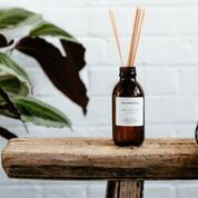 Luxury Basil, sage Leaf + Thyme Reed Diffuser - Handmade in the UK