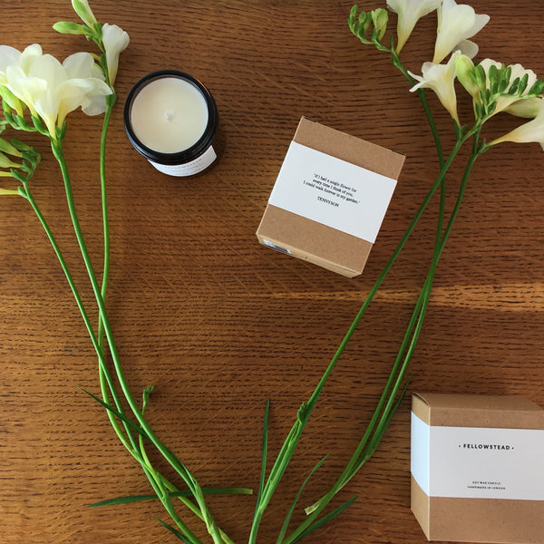 Luxury Clary Sage + Coriander Seed Candle - Handmade in the UK