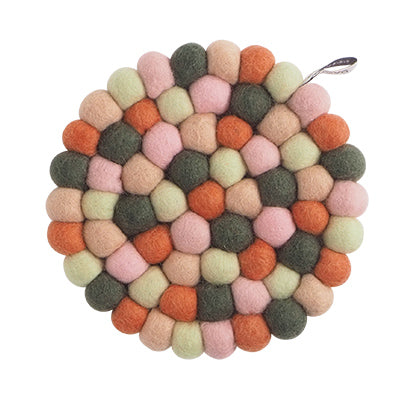 Round Forest Kitchen Trivet