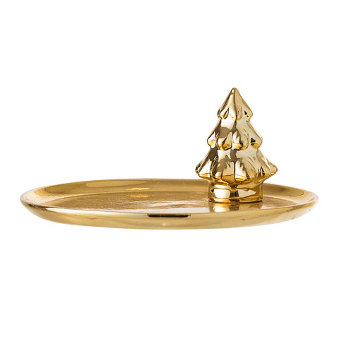 Gold Tree Decorative Tray