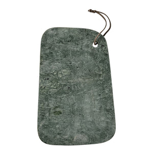 Green marble cutting board