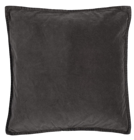 Grey Soft Velvet  Cushion