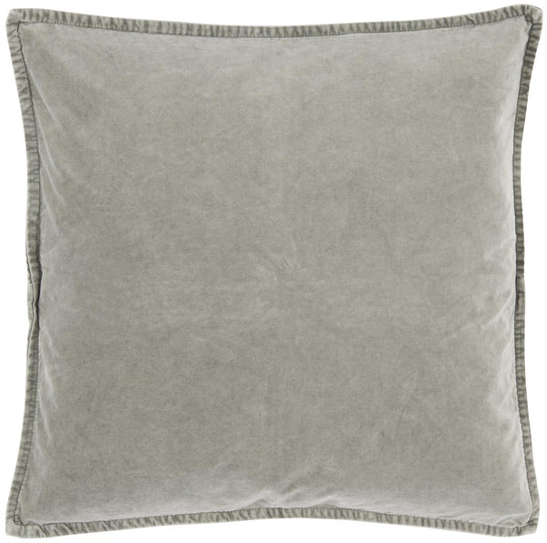 Light Grey Soft Velvet  Cushion