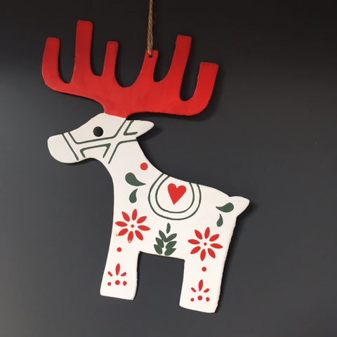 Metal Reindeer Decoration