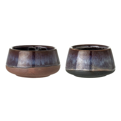 Stoneware tealight holders