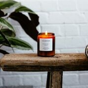 Luxury Orange Peel + Ginger Candle - Handmade in the UK