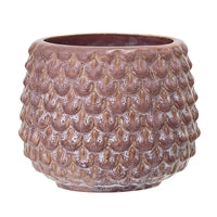 Pink Small Textured Plant Pot