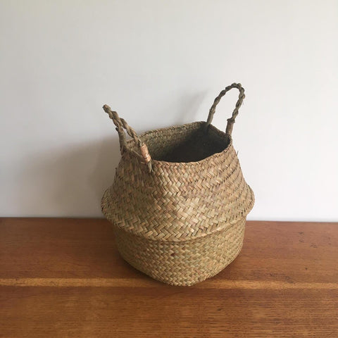 Small Natural Belly Basket