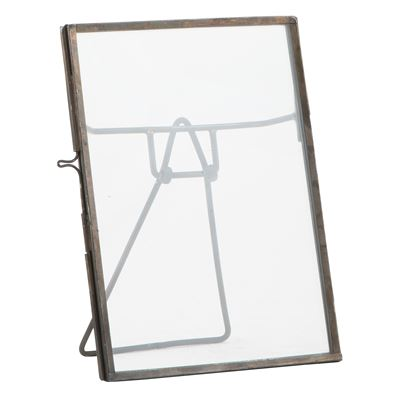 Small rectangular standing photoframe