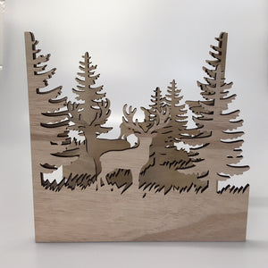Wooden Forest Design Decoration