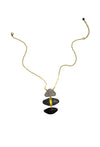 Desigual Necklace - Gray Scale
