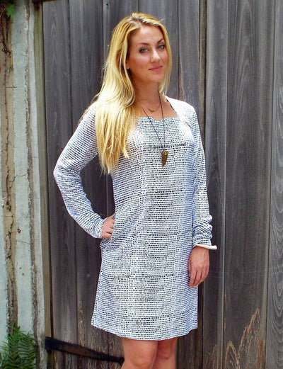 Ice & Dots Organic Knit Dress