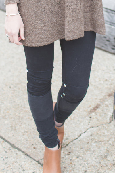Pieced Leggings