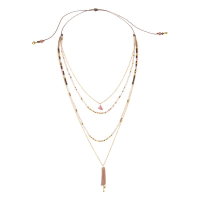 Lulu Necklace - Fawn
