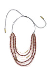 Mallorca Necklace - Burgundy