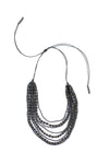 Mallorca Necklace - Cool Gray