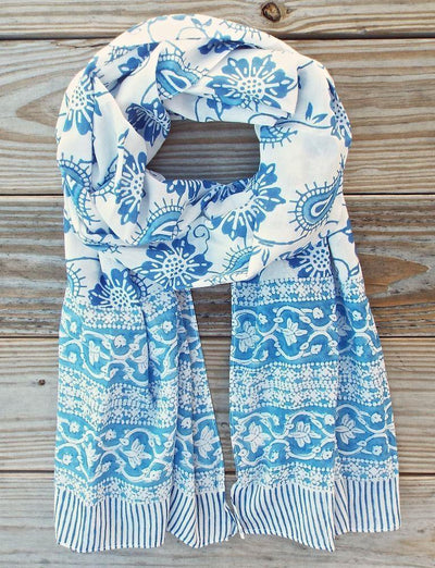 Mom's Favorite Blue Scarf