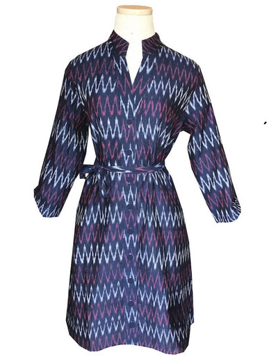 Mulberry Chevron Dress