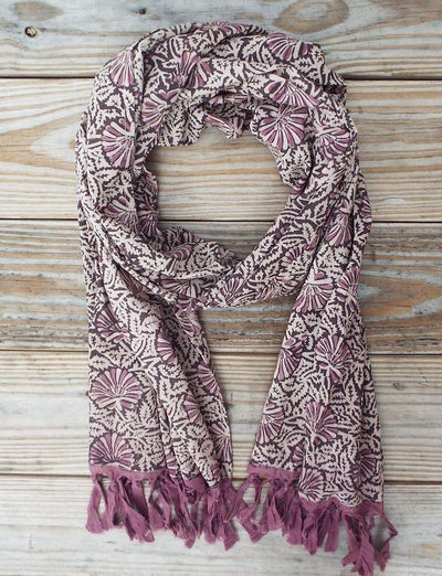 Purple Shell Scarf