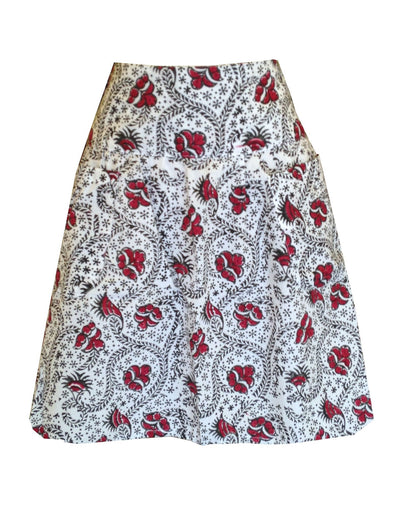Red Lata Skirt