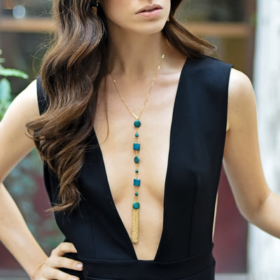 Samantha Necklace - Midnight