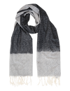 Black & Grey Timeless Ikat Scarf