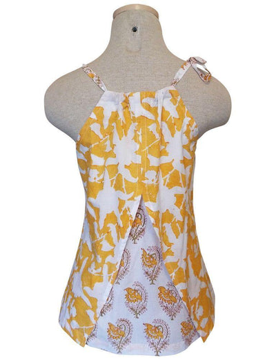 Yellow Blossoms Top