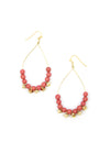 Raindrop Earrings - Apricot