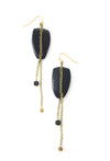 Scattered Earrings - Navy