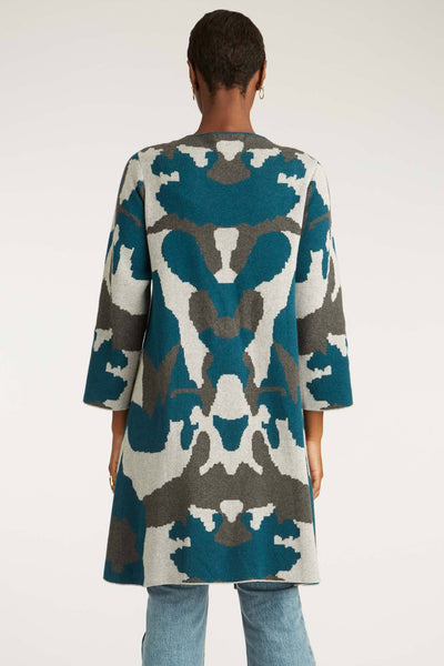 Ink Blot Swing Coat