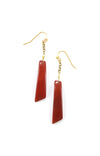 Taza Earrings - Apricot