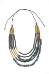 Victoria Necklace - Cool Gray