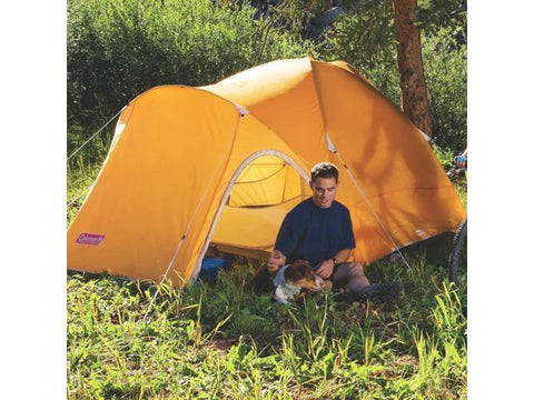 Image of COLEMAN HOOLIGAN TENT 8' X 7', 3 PERSON