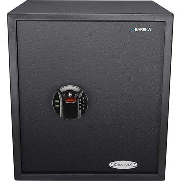 BARSKA OPTICS BIOMETRIC SAFE KEYPAD, SMOOTH, 1.94 CUBIC FEET