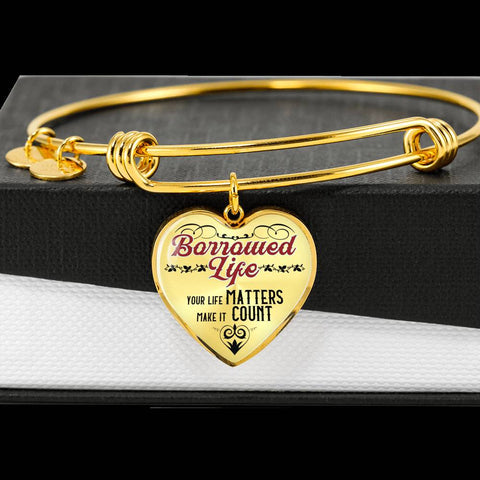 Inspirational Quote Bangle