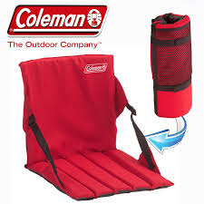 COLEMAN CHAIR STADIUM SEAT RED