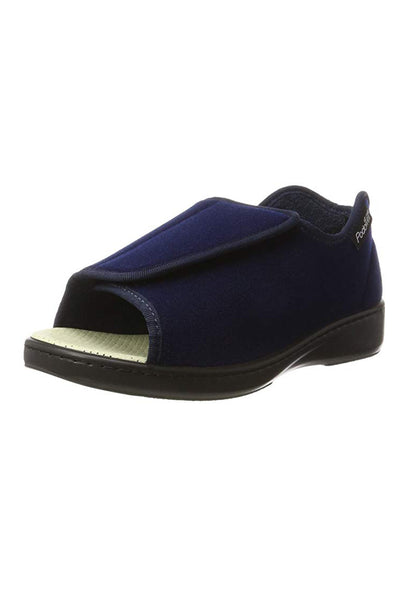 Open-Toed Sandals for Women - Navy | Lexi | Adaptive Shoes by Ovidis
