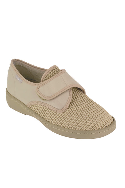 Adjustable Shoes for Women - Beige | Alvine | Adaptive Shoes by Ovidis