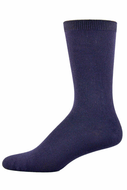 Simcan Bamboo Socks - Navy | NaturWells | Adaptive Clothing by Ovidis