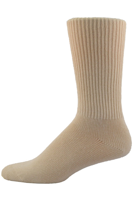 Simcan Comfort Socks - Beige | Diabetic | Adaptive Clothing by Ovidis