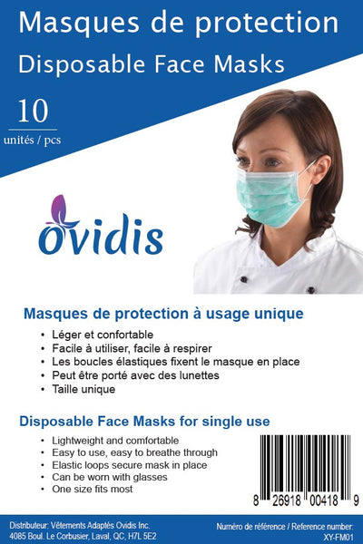 Disposable Face Mask - 10 pcs