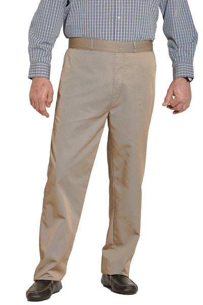 Chino Pants for Men - Khaki | Timmy | Adaptive Clothing by Ovidis
