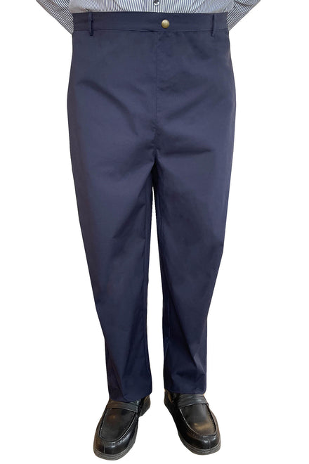 Back-Panel Adaptive Pants for Men - Blue | Chris | Adaptive Clothing