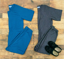 bobby alzheimers jumpsuits with back zippers