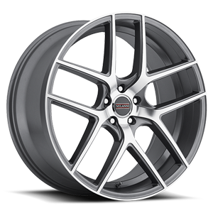 Vision Wheel Milanni 9052 Tycoon 20x10.5 Graphite Mirror Machined Face 5-4.5