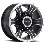 Vision Wheel 396 Assassin 20x9 Matte Black Machined Face 8-170