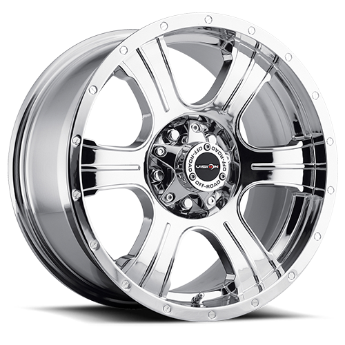 Vision Wheel 396 Assassin 20x9 Chrome 5-5