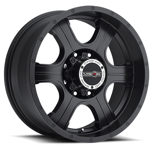 Vision Wheel 396 Assassin 20x9 Matte Black 8-180