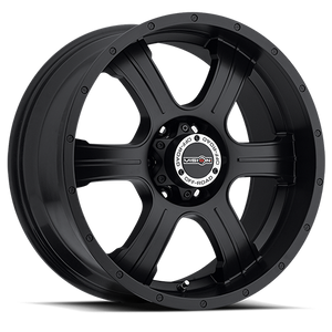Vision Wheel 396 Assassin 20x9 Matte Black 5-5.5