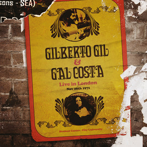 LP Gilberto Gil e Gal Costa Live in London Triplo